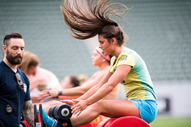 Teen Competition at 2015 CrossFit Games