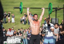 Rich Froning at 2016 CrossFit Open 16.5 Announcement