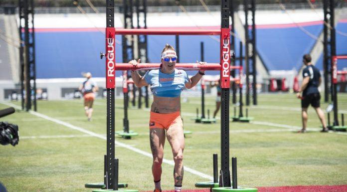 Sam Briggs at 2015 CrossFit Games