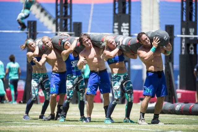CrossFit Mayhem at the 2016 CrossFit Games