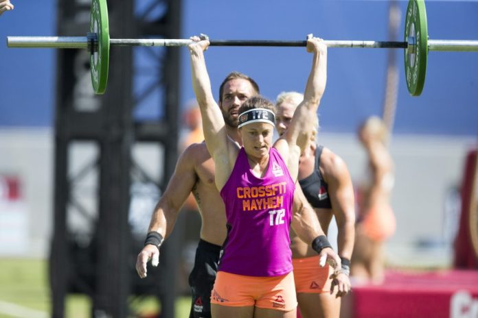 Kristin Reffett and Rich Froning of CrossFit Mayhem Freedom