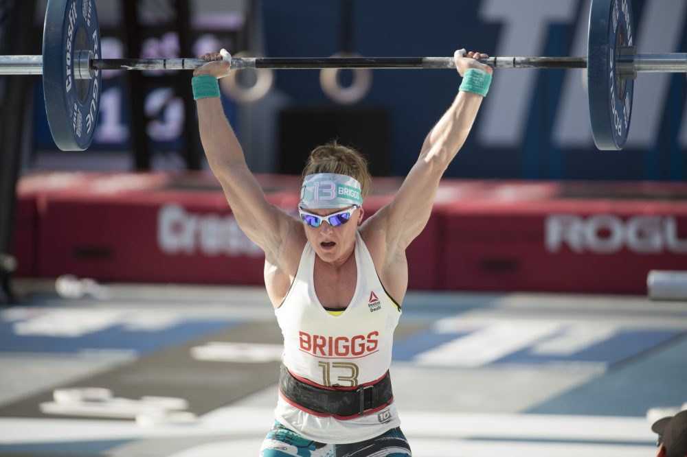 Sam Briggs during The Separator at the 2016 Reebok CrossFit Games