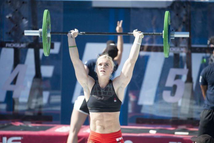 Katrin Davidsdottir at the 2016 CrossFit Games