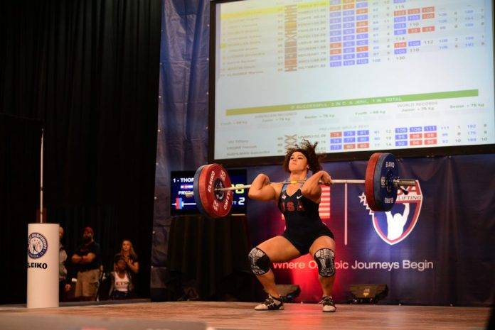 Loree Thornton at 2015 USAW American Open