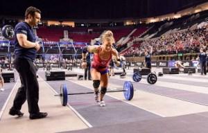 Carleen Mathews at the 2016 CrossFit Games West Regional