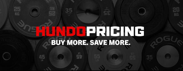 Rogue Fitness Hundo Pricing