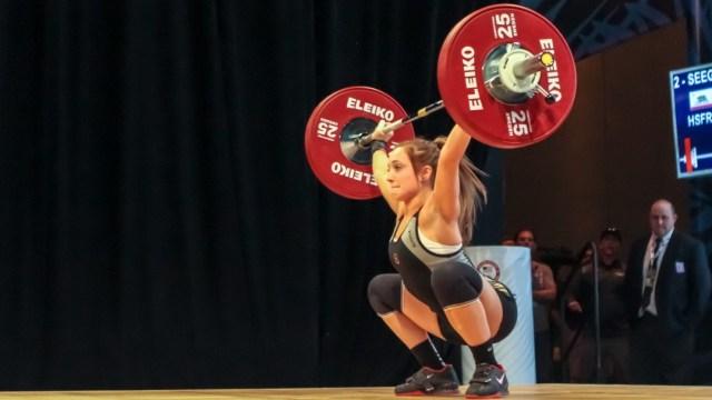 Megan Seegert at 2016 National Championship
