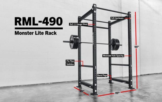 Rogue RML-490 Power Rack