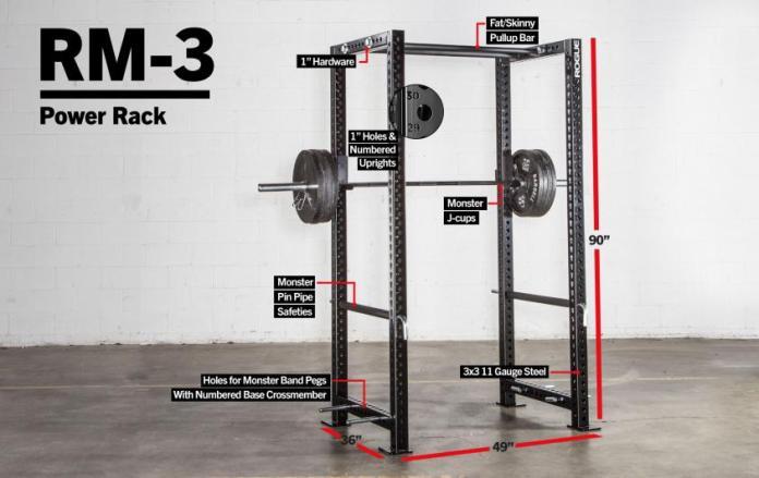 Rogue RM-3 Fortis Rack