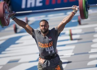Adrian Conway at 2015 CrossFit Games