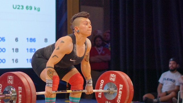 Danielle Hudes at 2016 USAW National Championships