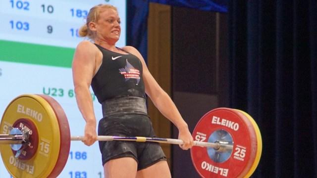 Kaley Anderson at 2016 USAW National Championships