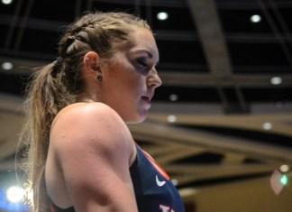 Mattie Rogers pre-lift at 2016 American Open