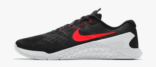 Nike Metcon 3 available on Nike iD