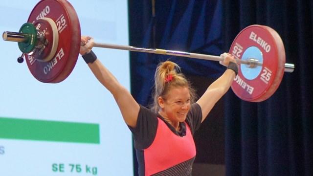 Samantha Poeth at 2016 USAW National Championships