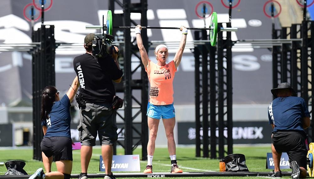 Sydney Sullivan wins 2015 CrossFit Games Teenage Girls 14-15 Division
