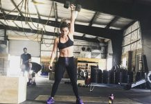 Julia Glotz Completes 17.1 after breaking after last fall via Instagram)
