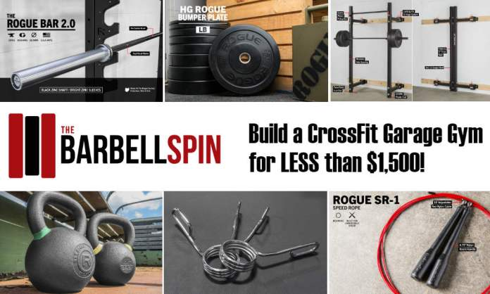 Garage workouts barbell eoua