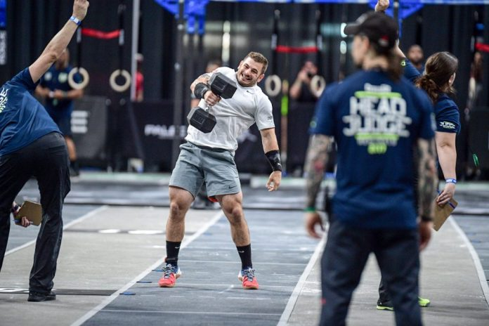 mat fraser dominates the 2018 crossfit open the barbell spin