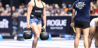 Tennil Reed had a stellar performance at the East Regional. The 2016 Games athlete took home the gold on Sunday. ©2017 CrossFit Inc. Used with permission from CrossFit Inc.