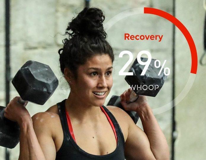 Jessa Lemoine, member of CrossFit Back Bay, using WHOOP. @jessalemoine/Instagram