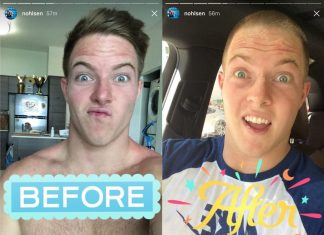 Noah Ohlsen cut his iconic hair over the weekend. @nohlsen/Instagram