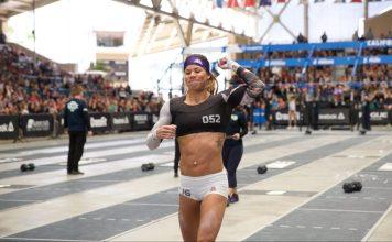 Chyna Cho wins the California Regional. Photo courtesy of CrossFit Inc.