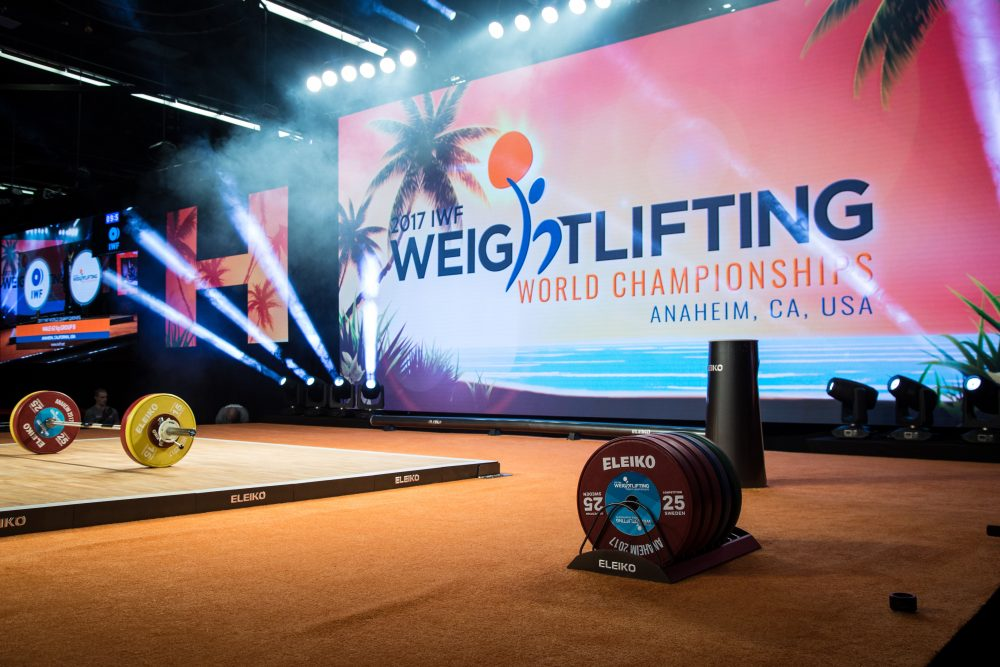 2017 IWF World Championships. Photo courtesy of Lifting Life.
