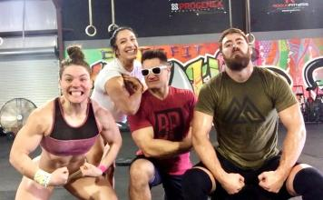 Sheila Barden, Rachel Garibay, Travis Williams and Jordan Cook will compete as a team during the 2018 CrossFit Games season.