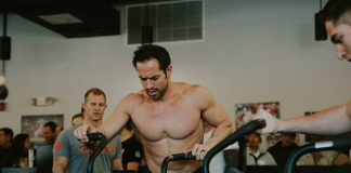 Rich Froning at CrossFit Wilco #TriForTots Charity Event.