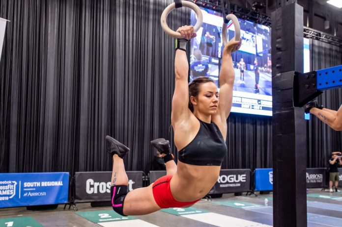 ab3d50cf8653 Camille Leblanc-Bazinet at the 2018 CrossFit Games South Regional. Photo  courtesy of CrossFit