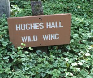HughesHallSign