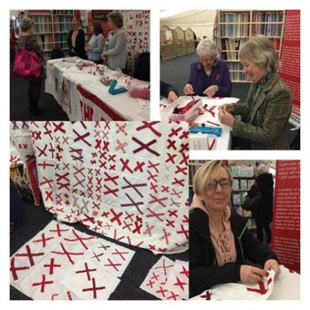 More quilts and blocks being made in the U.K.