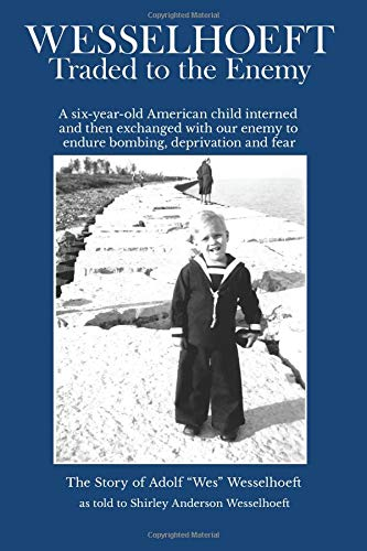 book cover bearing an image of a young boy standing on a bech wearing a sailor's suit