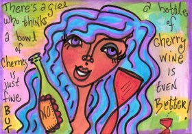 Cherry Wine Girl