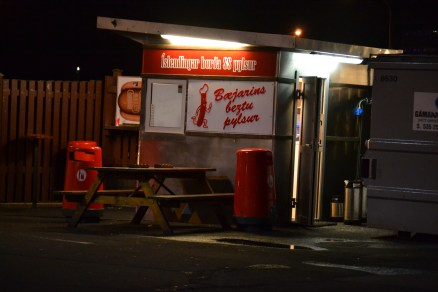 Iceland's favorite hot dog stand