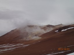 Solfataras and Fumaroles mud and steam springs