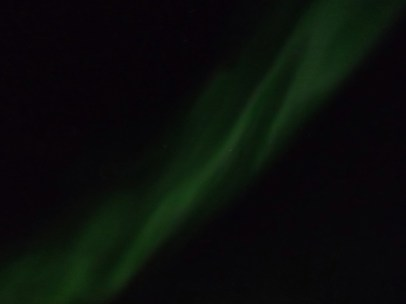 Aurora Borealis. Positively incredible. It still seems surreal that we saw this,