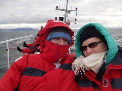 The first cold Reykjavik whale tour