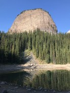Big Beehive. I hiked up that!