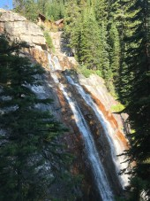 Tea House Falls. So I named them since the Tea House sits at the top.