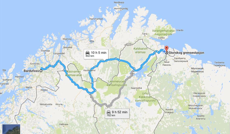 Google Maps Northeast Us