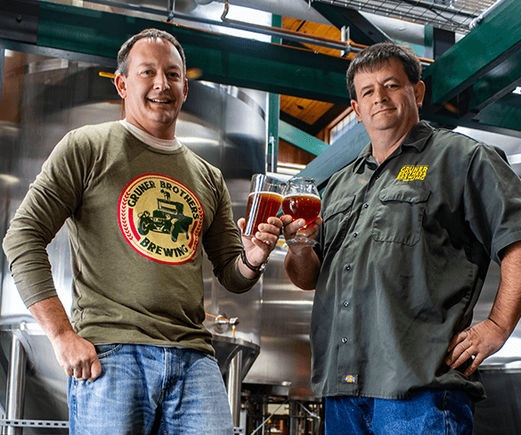 Gruner Brothers Brewing Team