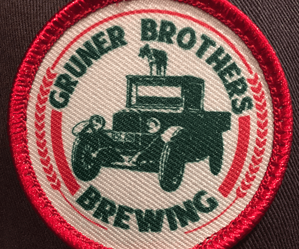 Gruner Brothers Brewing Patch