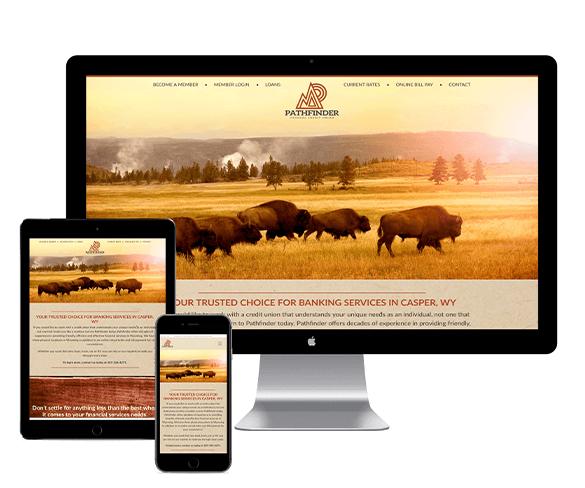 Pathfinder Federal Credit Union Website