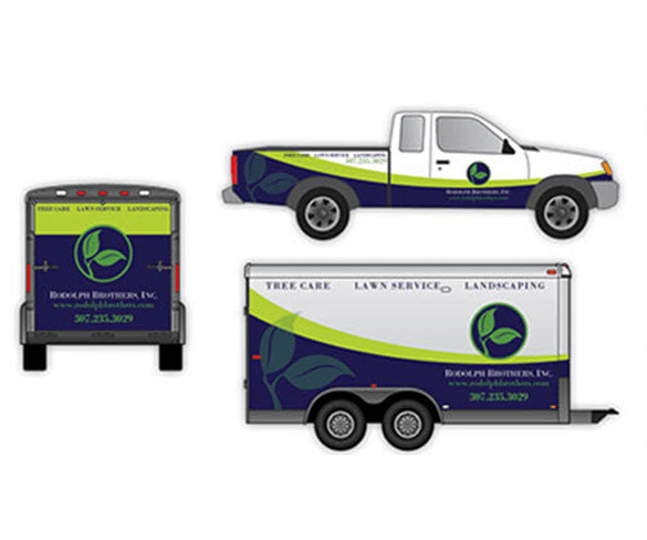 Rodolph Brothers Vehicle Wrap