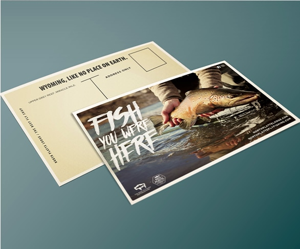 North Platte Lodge Postcard Design