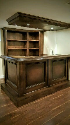 Traditional Custom Bar