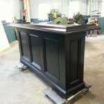 This bar is a classic pub style bar that can be made specifically for you.