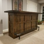 This freestanding bar is one of our most popular bars that can be placed anywhere you want a bar